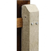 Recessed Concrete Post