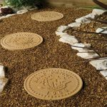 Garden Happy Penny Stepping Stones