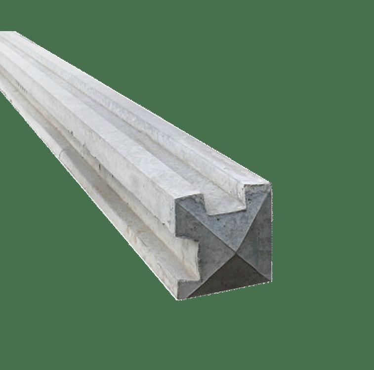 Concrete Corner Post: 8ft