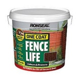 Medium Oak Colour Fence Paint