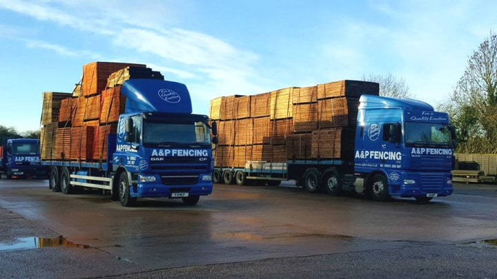 A&P Fencing Delivery