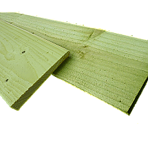Featheredge Boards - Green