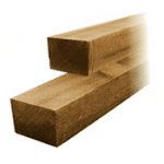4 x 3 Timber Fence Posts