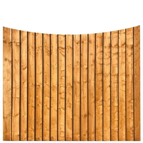Feather Edge Bow Panel 6x5