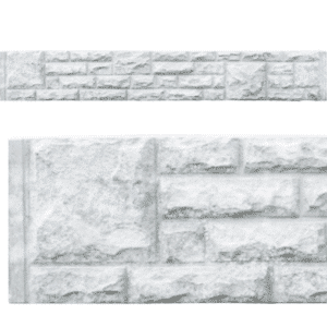Rock-Faced Concrete Gravelboard