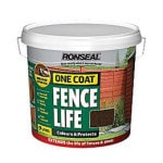 Dark Oak Fence Paint