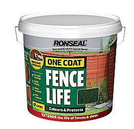 Forest Green Fence Paint