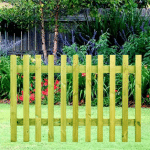 Square Top Picket Panels