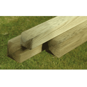 Ribbed & round top posts