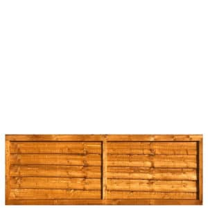 Waney Lap Fence Panel 6x2